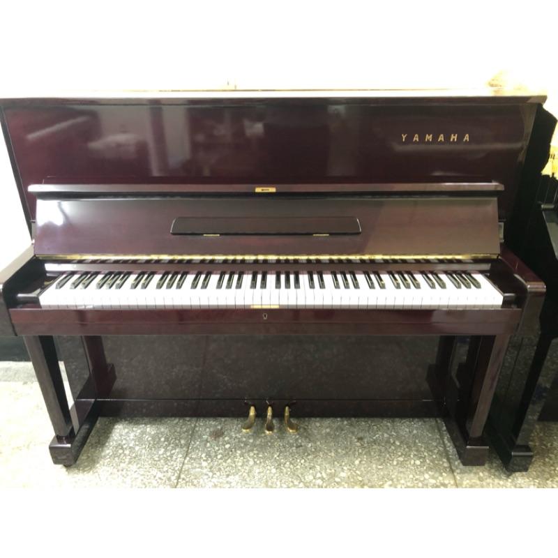 日本Yamaha U1酒紅色鋼琴
