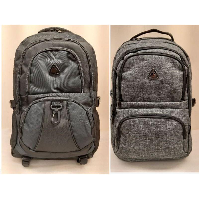 SPYWALK 後背包 電腦背包 登山包 運動背包 休閒背包9186灰色/9087藍配黑