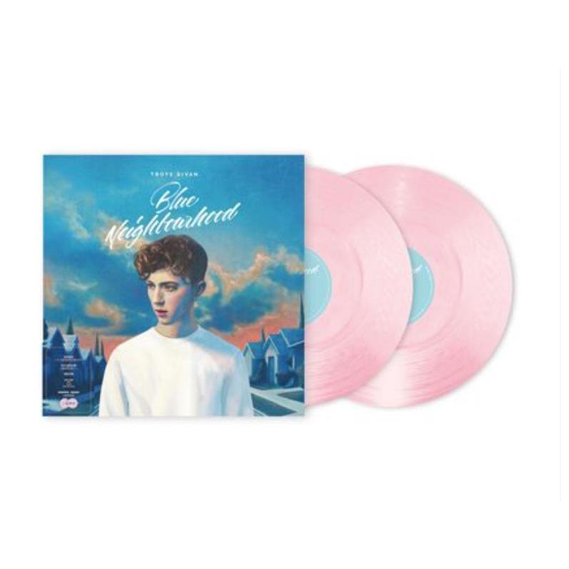 特價-【粉膠】戳爺 Troye Sivan Blue Neighbourhood 黑膠唱片2LP