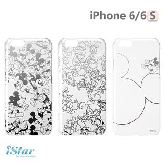iPhone 6/ 6s 手機殼 迪士尼 正版授權 透明/ 銀箔 PC 硬殼 4.7吋 -米奇/ 唐老鴨 新北市