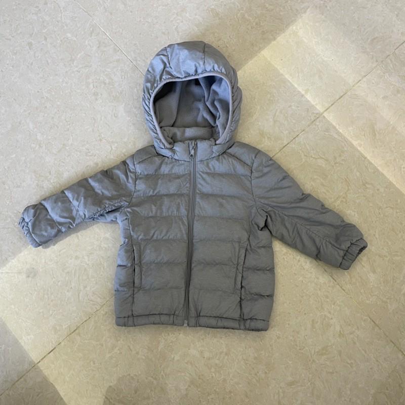[二手-近全新]UNIQLO輕量型/兒童羽絨外套/90cm