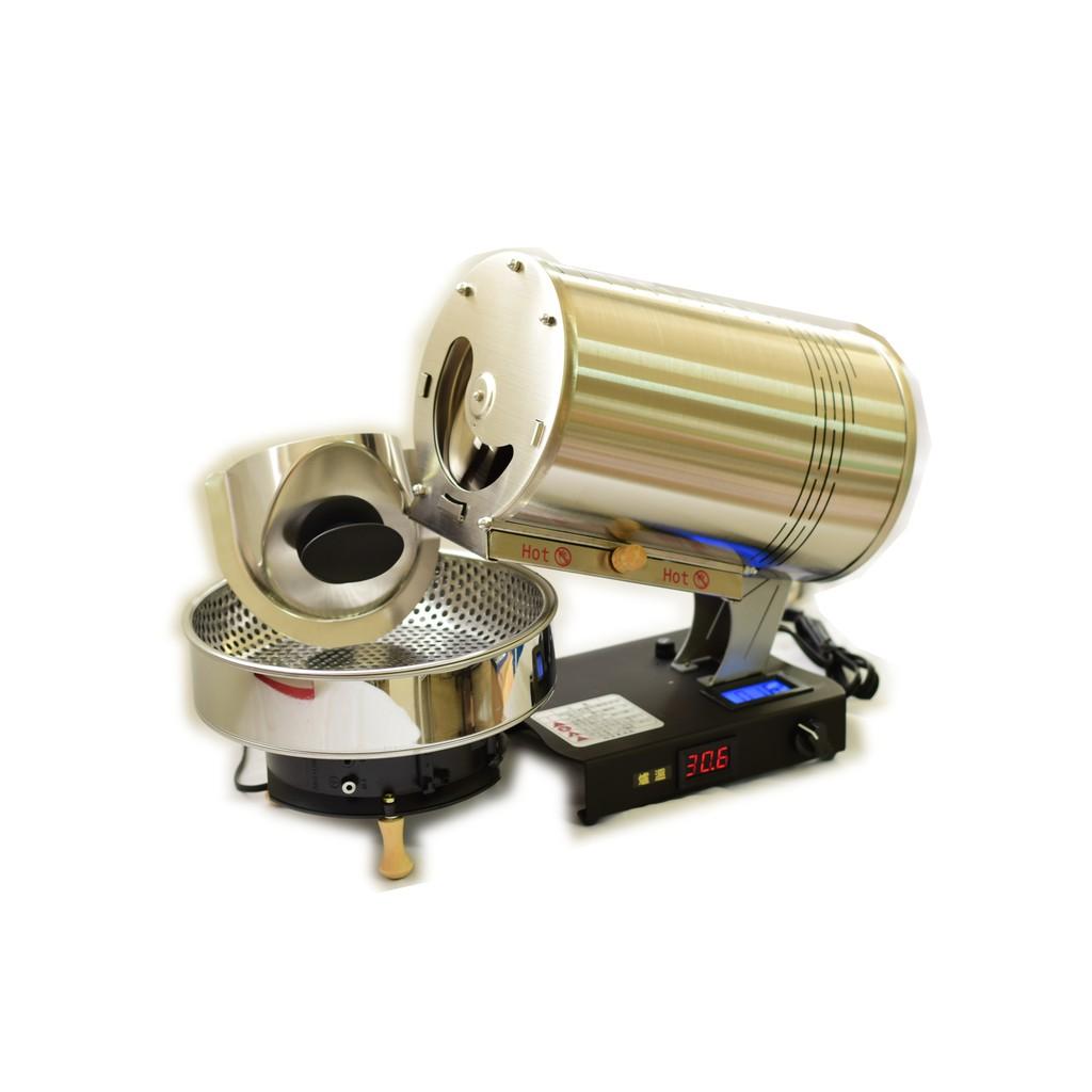 RF300 PLUS 烘豆機 含 冷卻器 最新 火力可調電熱 烘焙機 黑咖啡 RF300 自家烘焙 手網 陶壺 烘焙曲線