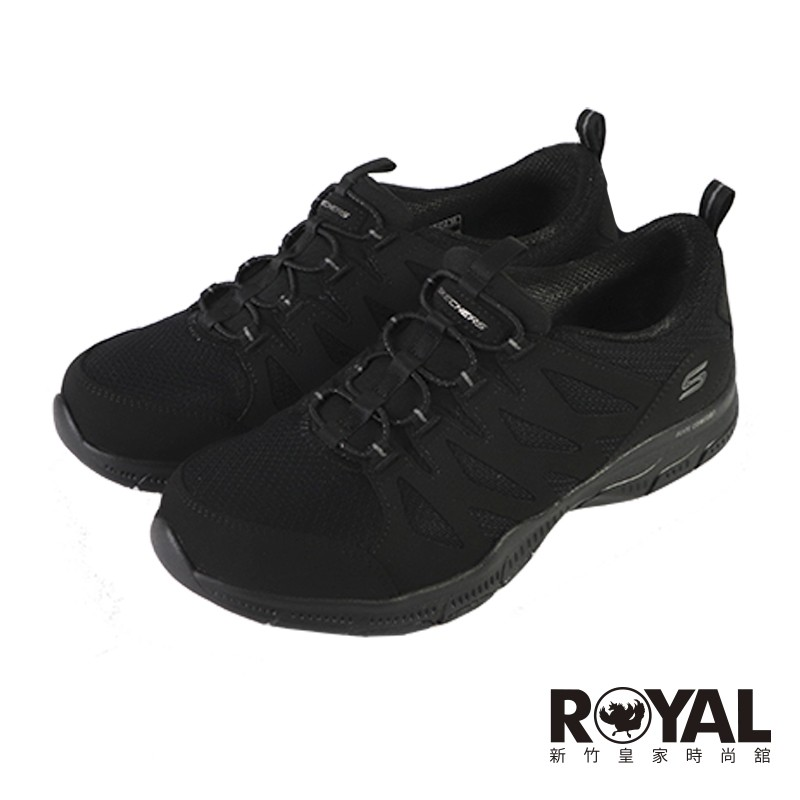 Skechers GRATIS 黑色 透氣 網布 休閒鞋 女款 NO.J0803【新竹皇家 104222BBK】