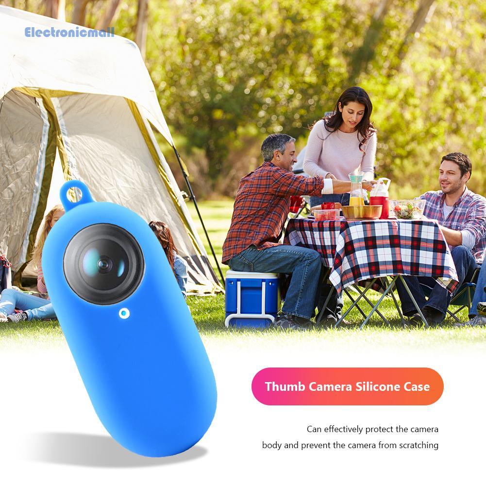 ElectronicMall01 適用於 Insta360 go2 拇指相機硅膠套