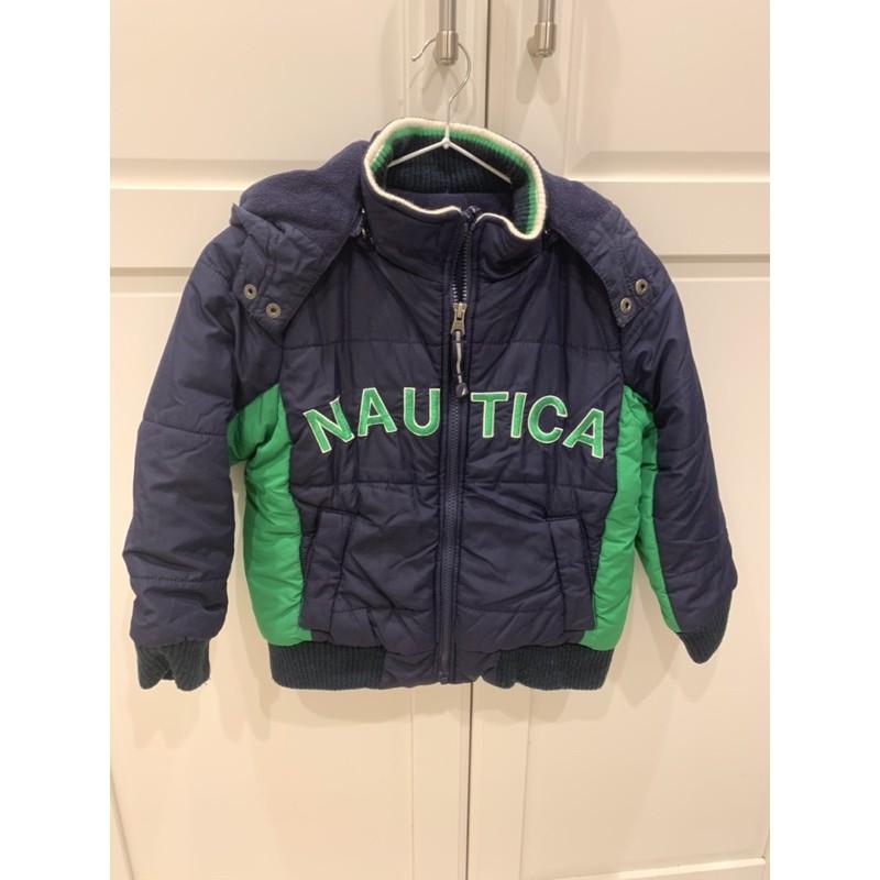 九成新NAUTICA男童鋪棉外套