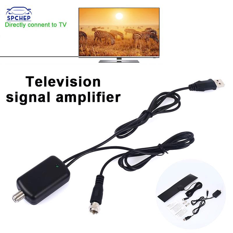 CHEP 50英里範圍數字4K電視HDTV天線50英里範圍數字電視HDTV天線UHF VHF信號F端口/電視端口