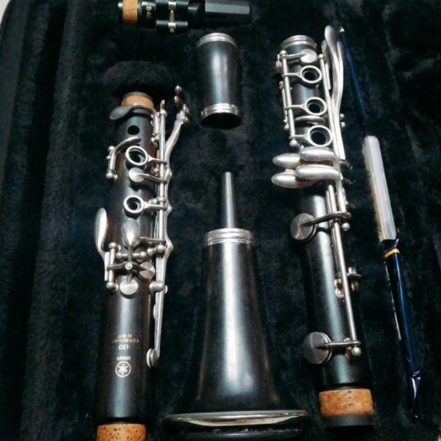山葉YCL-450黑壇木竪笛(2手)