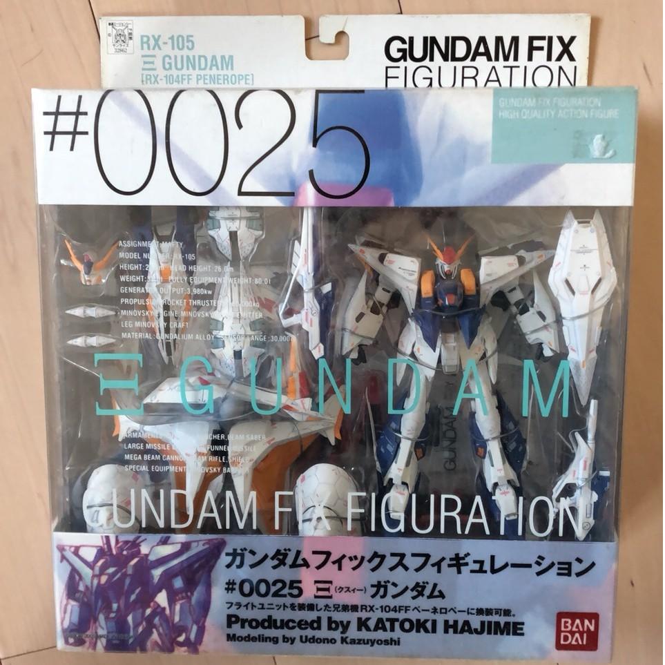 GUNDAM FIX GFF#0025 RX-105 ΞGUNDAM 閃光哈薩威