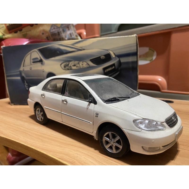 Toyota corolla altis 1:18 1/18 模型車