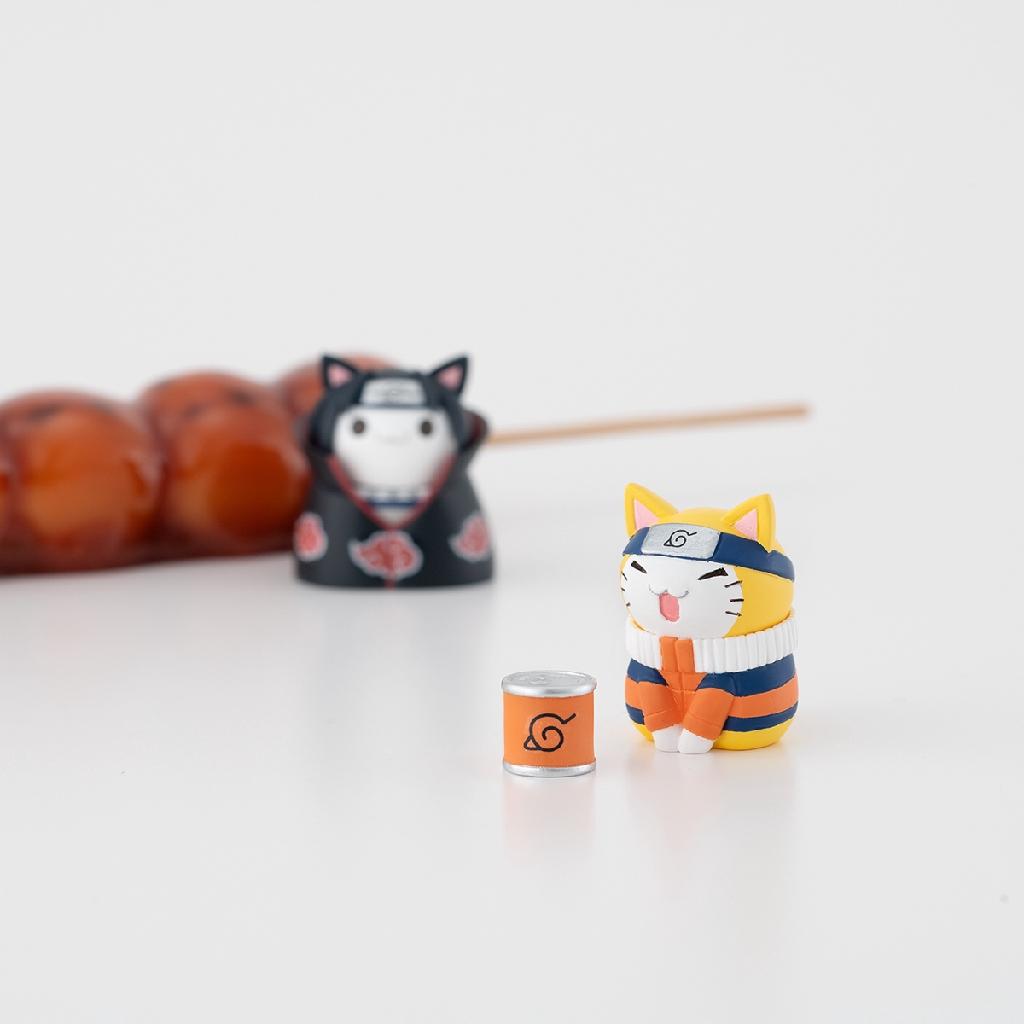 [預購]Megahouse 盒玩 火影忍者 愉快的木葉貓咪們 貓咪公仔 / 全八種 / 不拆賣