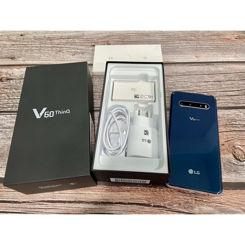 LG V60 ThinQ 8G/256G 雅痞藍 九成新 非 G8 G8X Velvet WING S20 S21 G7