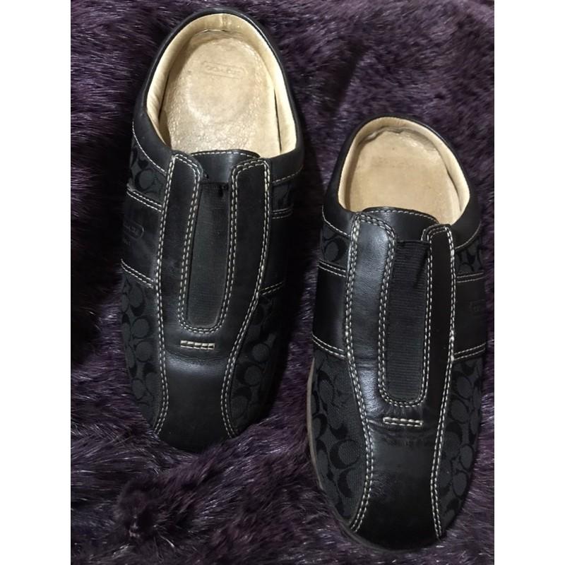 真品Coach 懒人鞋,拖鞋,Size7M