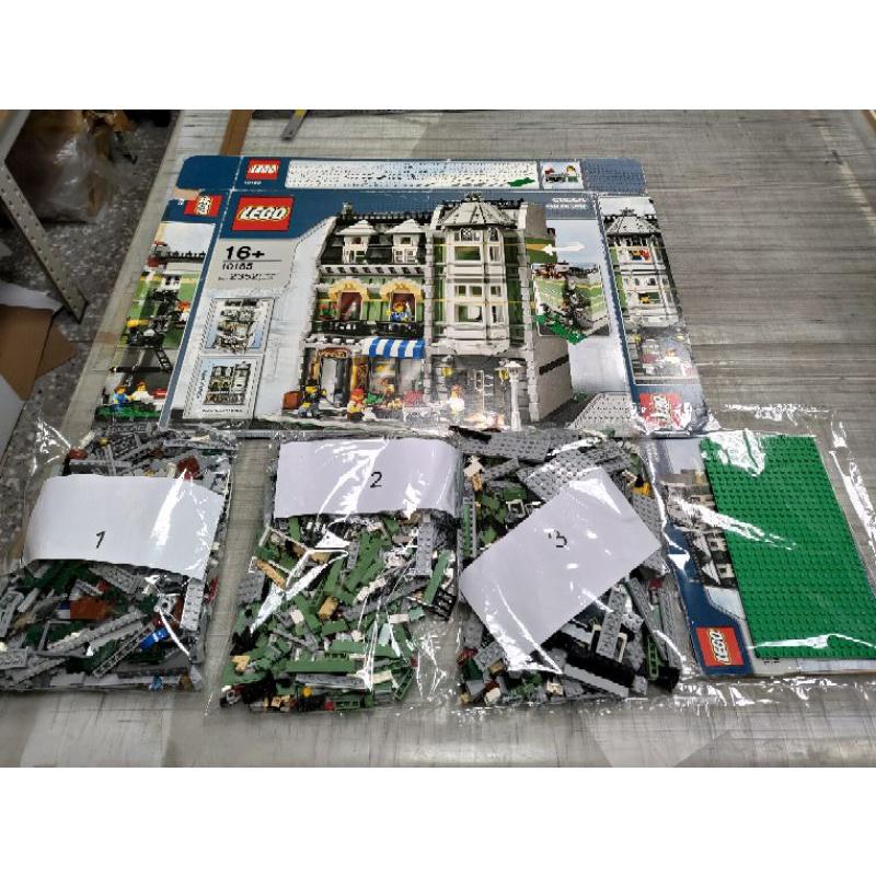 13年前 樂高老物 經典收藏 10185 綠色商店 附說明書及老盒子