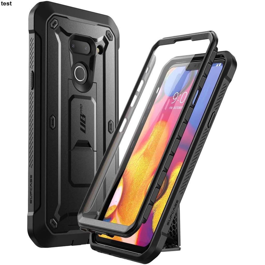 SUPCASE UBPro  LG G8/ThinQ 保護殼和 保護殼(2019 年發布),帶內置屏幕保護膜