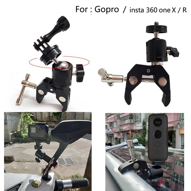 ✴❁卐Insta 360 相機腳踏車安裝座腳踏車機車支架, 用於 Gopro Insta 360 One X R 骨架框