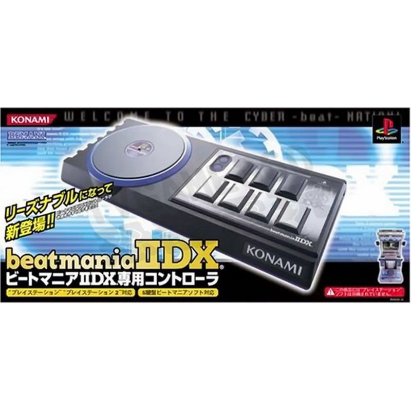 PS2 日本Konami 節奏DJ beatmania IIDX 控制器 & 遊戲 & 模型 ~ 出清一起賣  ~