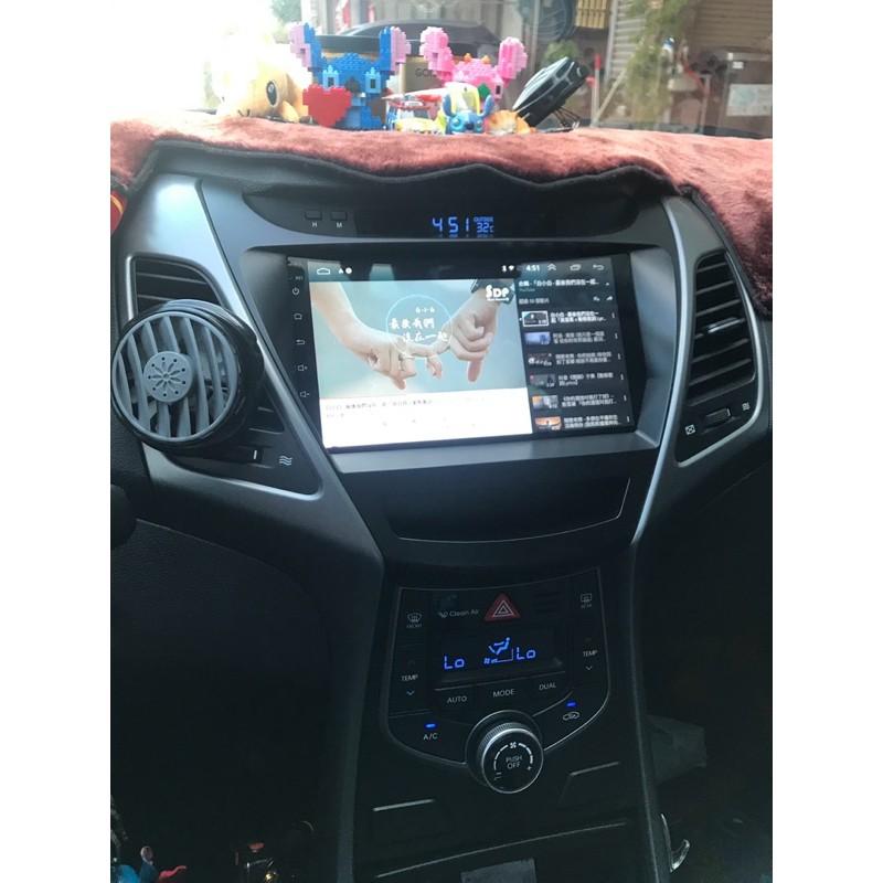 Elantra  安卓機 專用  9吋專用 車機 現代 汽車 專用 安卓機 多媒體 影音 倒車顯影 導航