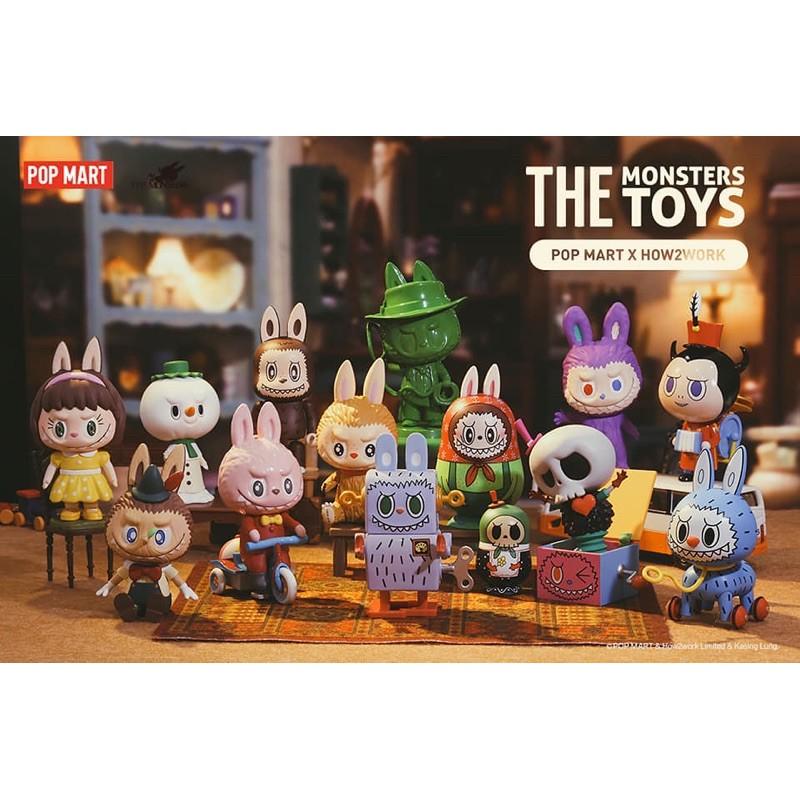 LABUBU 玩具系列 The Monster Toys series 泡泡瑪特