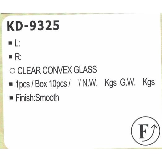 台灣製造 KD-9325 韓國 KIA 後視鏡 CARENS 15 起亞 照後鏡 台製『價格可談』