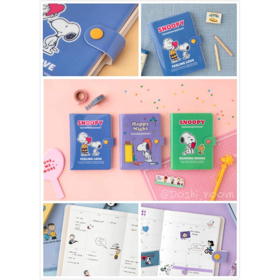 【現貨】doshi.room韓國代購🇰🇷韓國10x10 DAISO x Snoopy 史努比 無時效日誌