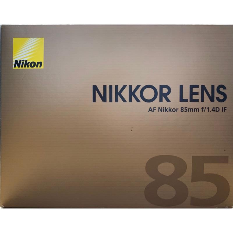 NIKON 85mm F1.4D 大光圈 榮泰公司貨