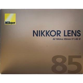 NIKON 85mm F1.4D 大光圈 榮泰公司貨 桃園市