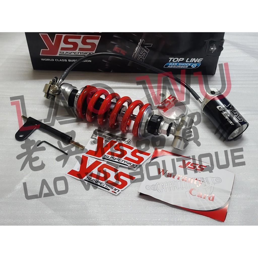YZF-R3 MT-03 YSS G-SPORT 氣瓶 懸吊 後懸吊 避震器 後避震 黑屏特仕版