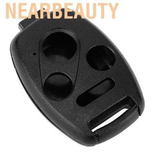 適用於Accord的Nearbeauty Duokon遙控鑰匙鏈未切割外殼案例適合於2004 2004 2005 200