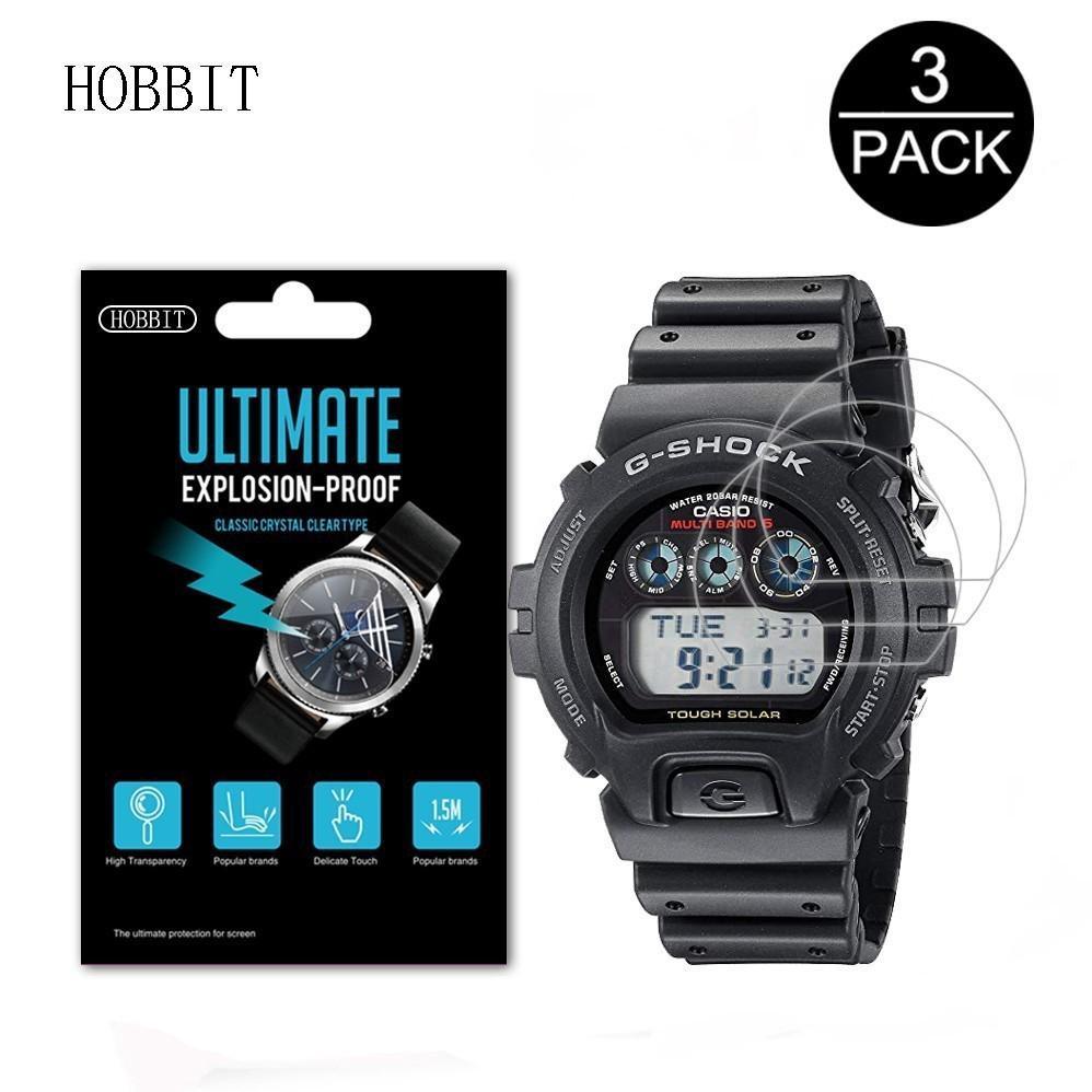 適用於卡西歐 Dw6900 Gw6900 Gw7900 Gr8900 男士 G-Shock 運動手錶屏幕保護膜