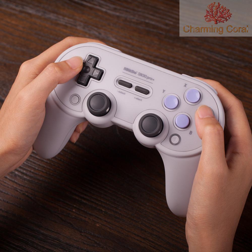 Char 8bitdo Sn30 Pro + Bt Gamepad Sn Edition 無繩控制器, 用於開關
