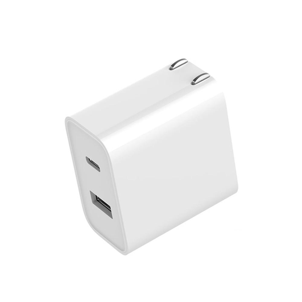 小米 USB 充電器 30W 快充頭 快充版 雙孔 安卓 蘋果(Type A+C)