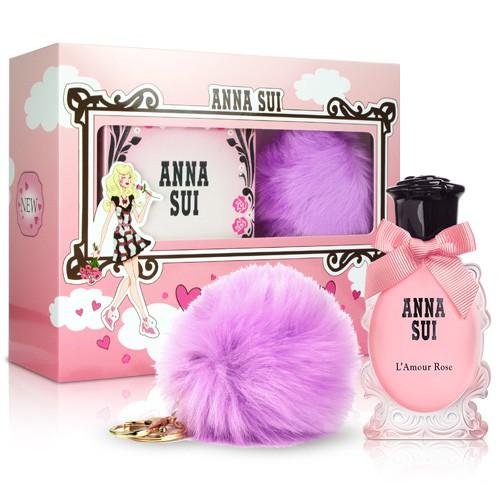 香水禮盒 💕💕 Anna Sui 安娜蘇 愛在巴黎時尚紫禮盒