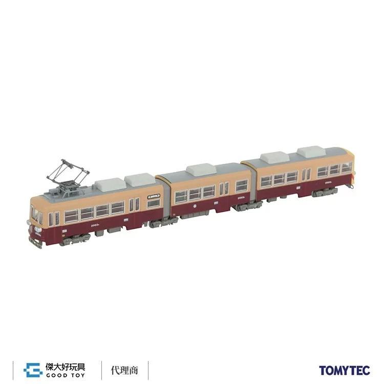 TOMYTEC 300977 鐵道系列 築豐電鐵 2000型 2003 號