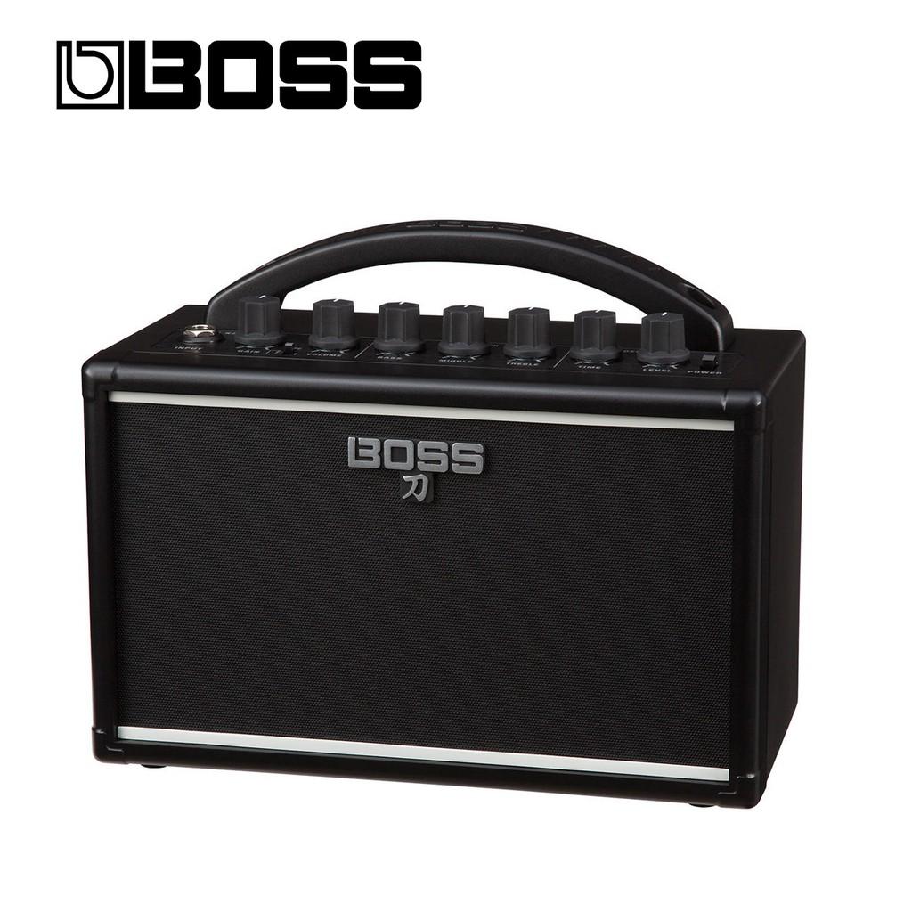 【BOSS】現貨 免運費 BOSS KATANA MINI 音箱 刀 小瓦數 攜帶式 裝電池 破音 多種功能 電 吉他