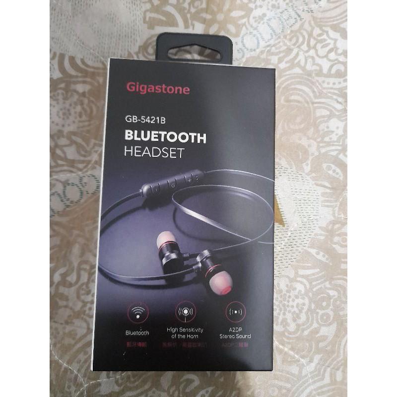 (全新)Gigastone GB-5421B 磁吸式運動藍牙耳機