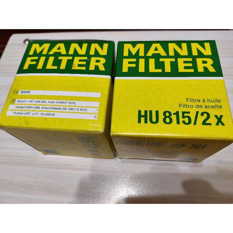 BMW E46/318i/N42/N46 MANN 機油芯子[HU815/2X]