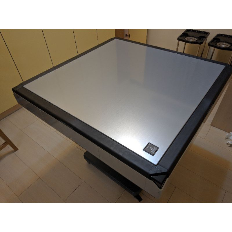 商密特 T550mini 電動麻將桌 電動桌 折疊 超薄 過山車 絕美銀白色 1/25才購買 配件齊全