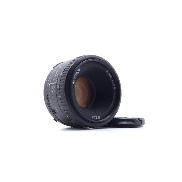 【台中青蘋果】Nikon AF 50mm f1.8 D 二手 定焦鏡 鏡頭 #48034