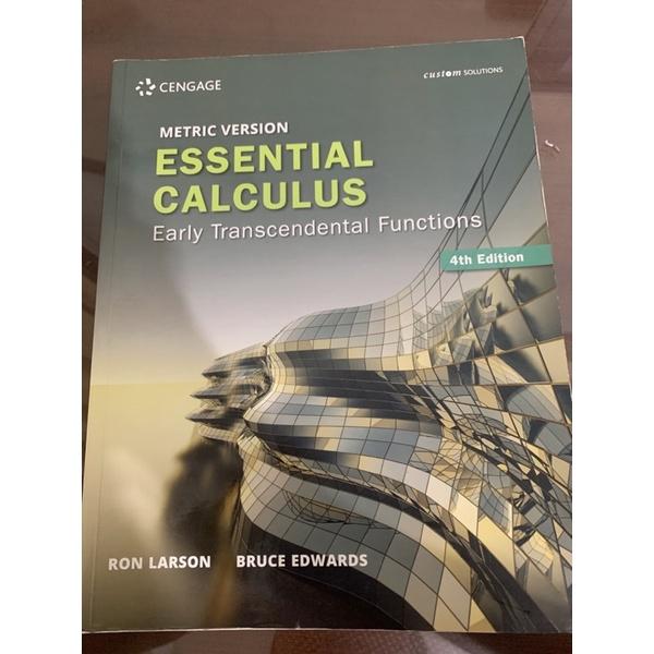Essential Calculus 4th Edition 微積分第4版
