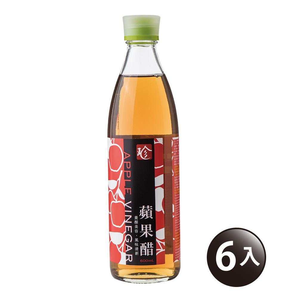 【百家珍】蘋果醋600mL-6入組