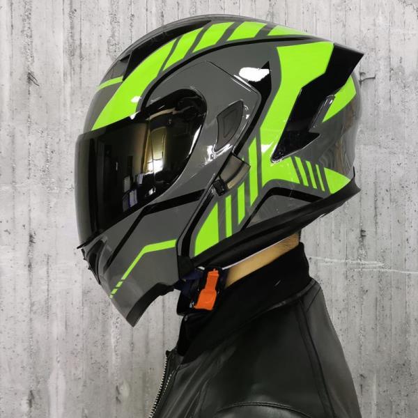 高品質Orz電動車頭盔男揭面盔雙鏡片半盔安全帽四季機車頭盔可樂帽