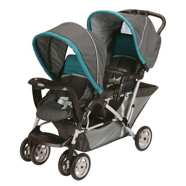 (已預訂)二手 育兒好物 GRACO DOUFLIDER 雙人推車 單手收折 嬰兒推車 秒收