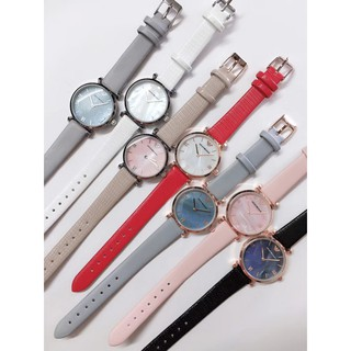 【有間小鋪】Armani阿曼尼AR時尚潮流手錶膠包鋼復古石英手錶腕錶女錶 桃園市