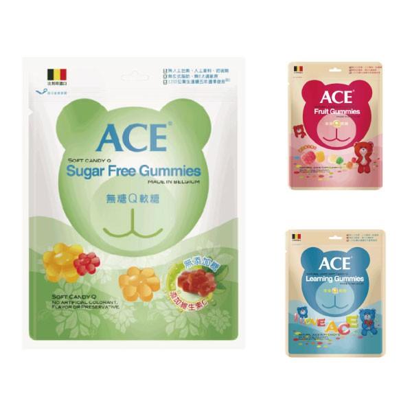 比利時 ACE Q軟糖量販包(3種可選)【麗兒采家】