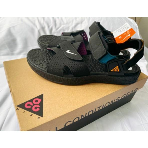 全新NIKE ACG Deschutz QS 黑紫 機能 涼鞋CT2890-003涼鞋
