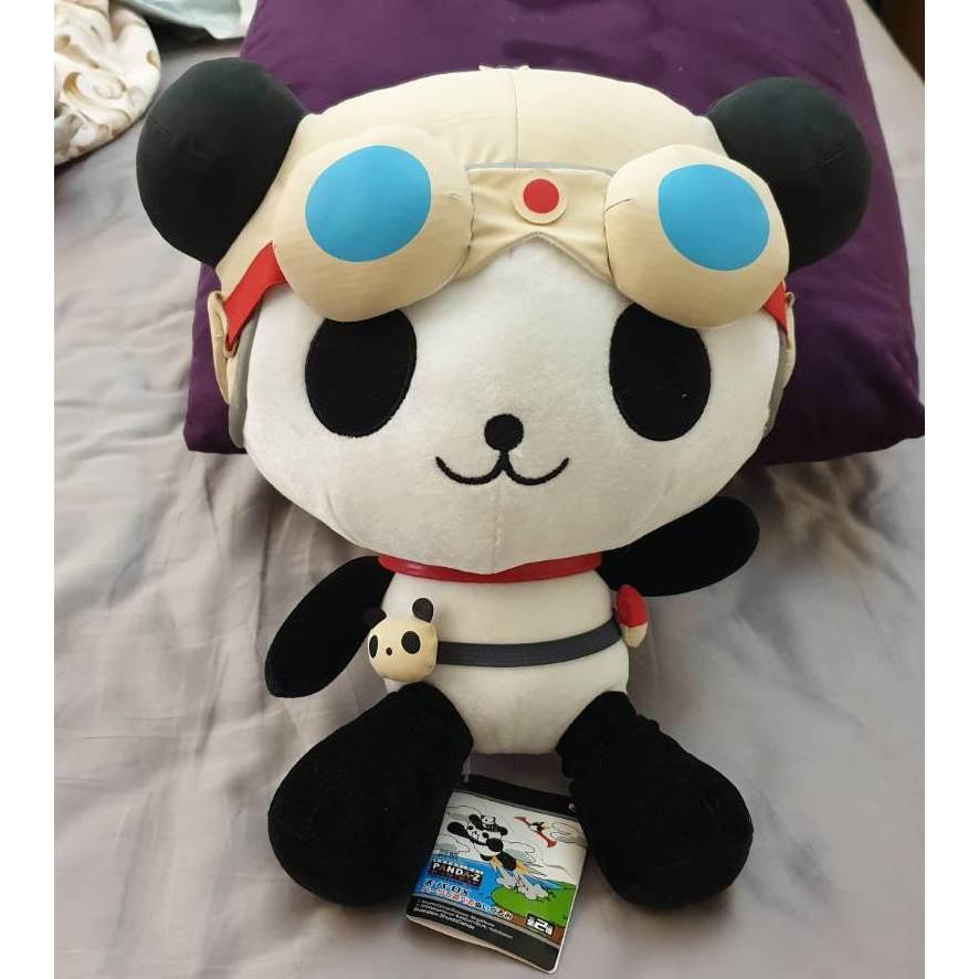 正日版眼鏡牌 Banpresto PANDA-Z 熊貓機器人絨毛布偶 熊貓太郎 熊貓鐵金剛