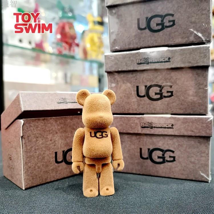 【益智】BEARBRICK UGG 植絨 100%限定單盒 積木熊 BE@RBRICK