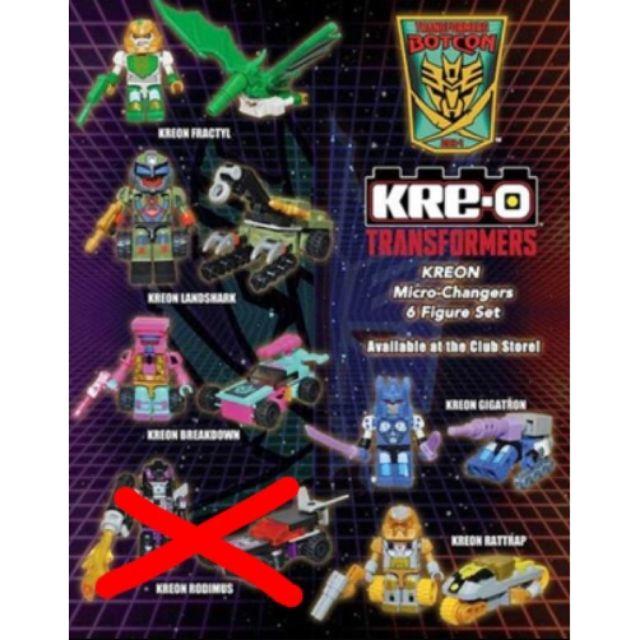 變形金剛 Kre-o botcon 限定 非樂高、電影、柯博文、海賊王、超合金、七龍珠