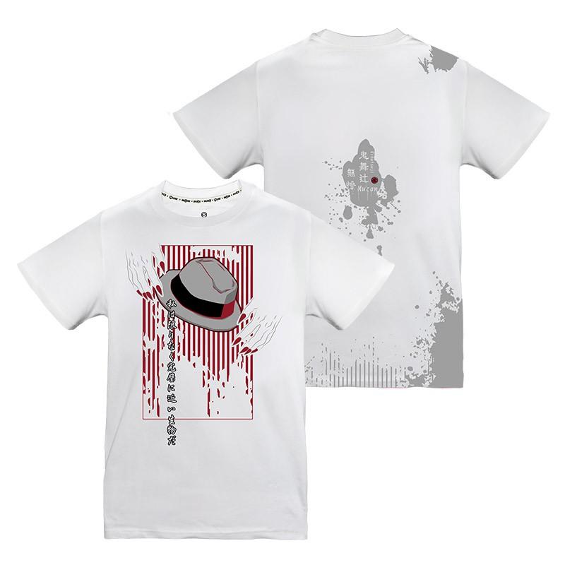 MUSE木棉花  潮流T-shirt(鬼舞無慘)-鬼滅之刃XXL