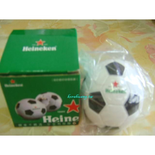 收藏 海尼根 Heineken 足球 造型 開瓶器  底部磁鐵可吸附收納
